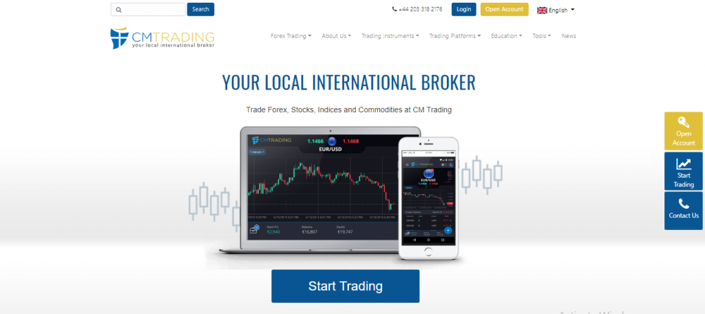 CM Trading scam