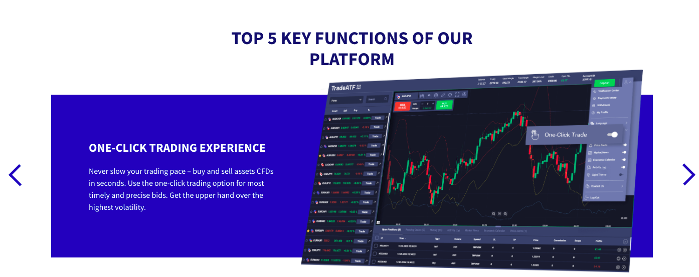 trading platform of tradeaft reviewed
